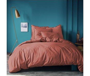 Matt & Rose Duvet cover Terracotta 260 x 240 ZS Washed Cotton