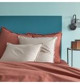Matt & Rose Dekbedovertrek Terracotta - Tweepersoons - 200 x 200 cm, zonder kussenslopen - Katoen
