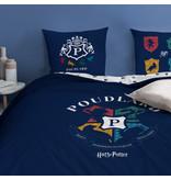 Harry Potter Housse de couette Logo - Lits Jumeaux - 240 x 220 cm - Coton