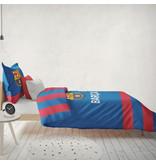 FC Barcelona Housse de couette Iconic - Lits Jumeaux - 240 x 220 cm - Coton