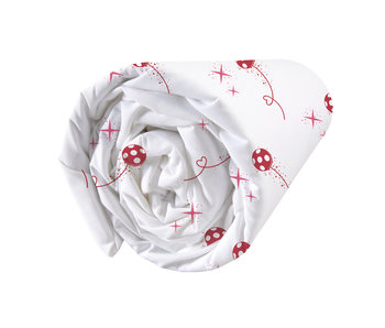 Miraculous Fitted sheet Shadow 90 x 200 cm Cotton