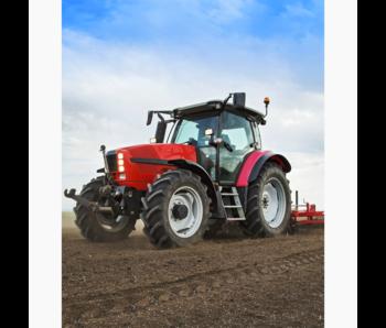 Traktor Fleece deken Omploegen 120 x 150 cm