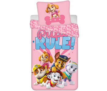 PAW Patrol Duvet cover Pups Rule 140 x 200 Polyester