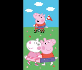 Peppa Pig Strandlaken Playtime 70 x 140 cm Katoen