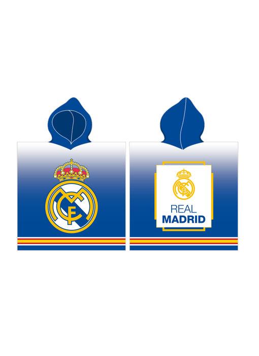 Real Madrid Poncho 60 x 120 cm Katoen