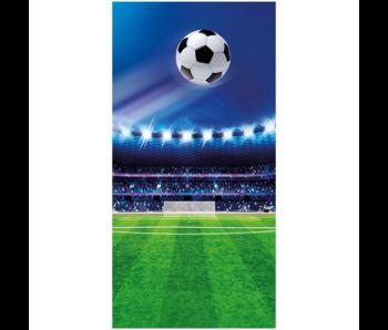 Voetbal Strandlaken Stadion 70 x 140 cm Katoen