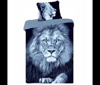 Animal Pictures Duvet cover Lion 140 x 200 Cotton