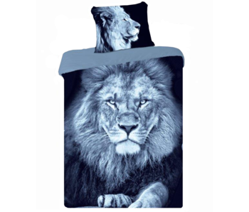 Animal Pictures Housse de couette Lion 140 x 200 Coton