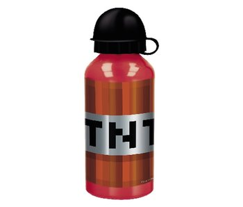Minecraft Trinkflasche Aluminium 400 ml