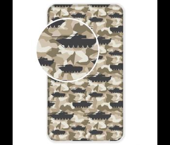 Tank Drap housse Camouflage 90 x 200 cm Coton