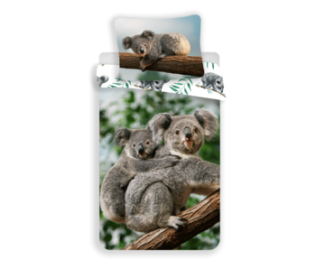 Animal Pictures Housse de couette Koala 140 x 200 Coton