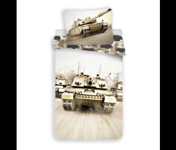 Tank Housse de couette Camouflage 140 x 200 Coton