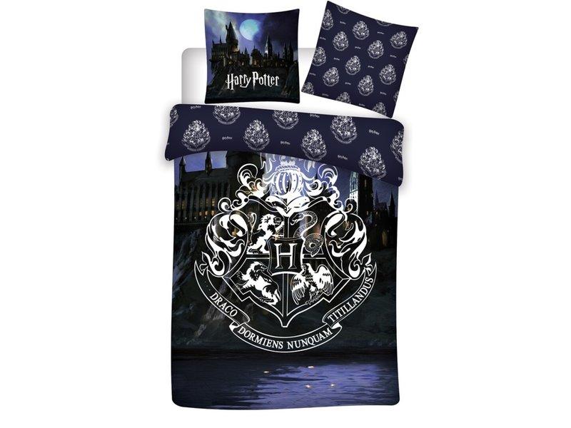 Harry Potter Housse de couette Dark - Lits Jumeaux - 240 x 220 cm - Coton