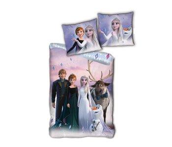 Disney Frozen Housse de couette Ensemble 140 x 200 cm Coton