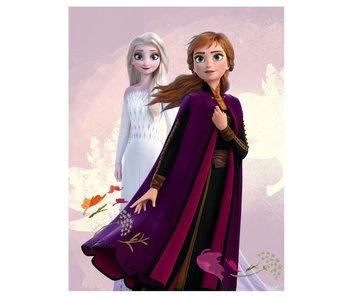 Disney Frozen Couverture polaire Sisters 140 x 100 cm polyester