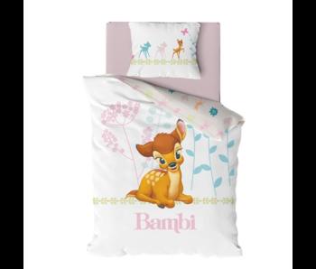 Disney Bambi BÉBÉ Housse de couette 135 x 100 cm 40 x 60 cm coton
