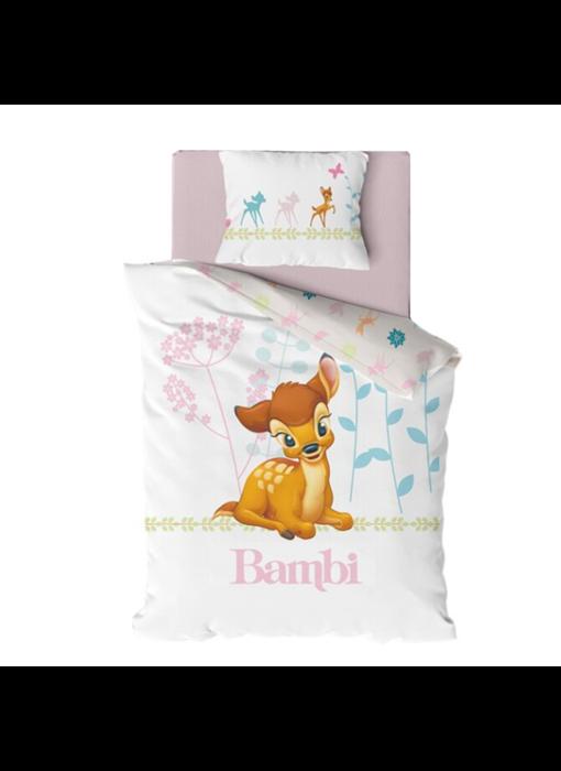 Disney Bambi BABY Dekbedovertrek 135 x 100 cm 40 x 60 cm katoen