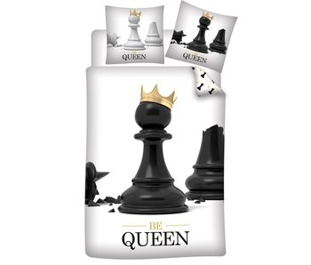 Housse de couette Be Queen 140 x 200 cm Polyester
