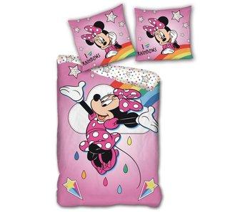 Disney Minnie Mouse Duvet cover Rainbows 140 x 200 cm Cotton