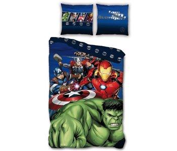 Marvel Avengers Housse de couette Hulk 140 x 200 cm Polyester