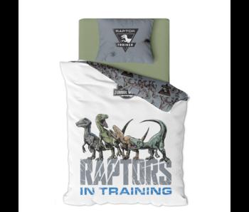 Jurassic World Housse de couette Raptors 140 x 200 cm Polyester