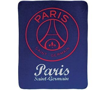 Paris Saint Germain Fleece blanket Red Score 110 x 140 cm