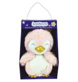 Luminou Cuddly Toy Penguin Glow in the Dark - 18 cm - Pink