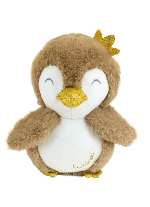 Luminou Knuffel Pinguïn 18 cm