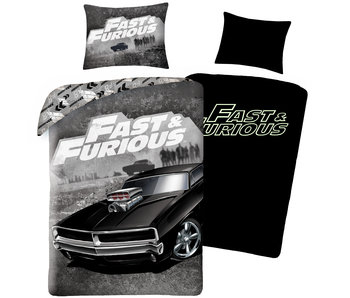 The Fast and the Furious Housse de couette Supercharged Beast 140 x 200 cm Coton