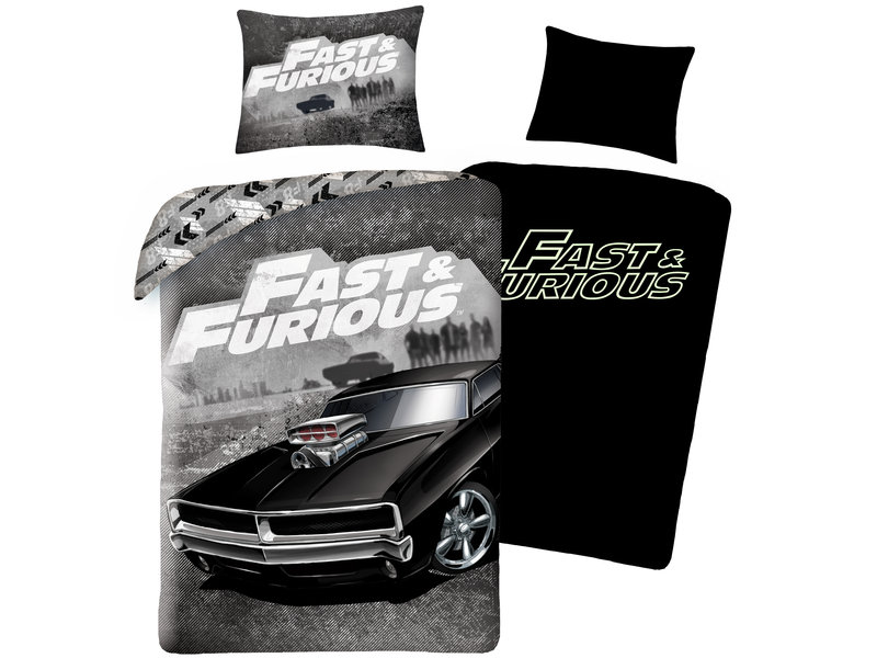The Fast and the Furious Duvet cover Supercharged Beast - Single - 140 x 200 cm - Cotton