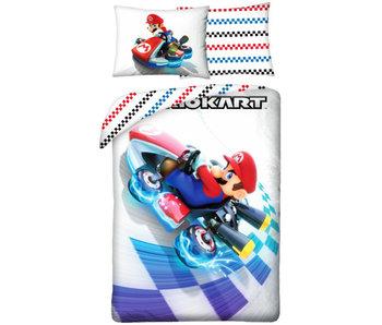 Super Mario Duvet cover Mario Kart 140 x 200 cm Cotton