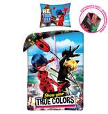 Miraculous Duvet cover True Colors - Single - 140 x 200 cm - Cotton