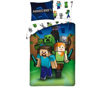 Minecraft Housse de couette Monster Hunter 140 x 200 cm Coton