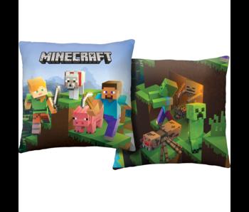 Minecraft Kussen Build 40 x 40 cm