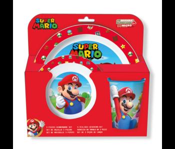 Super Mario Breakfast set 3 pieces