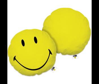 Smiley World Coussin 3D Happy 35 x 35 cm