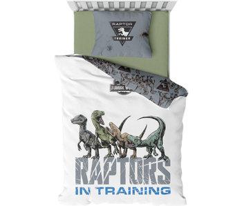 Jurassic World Housse de couette Raptors à l'entraînement 140 x 200 cm Coton