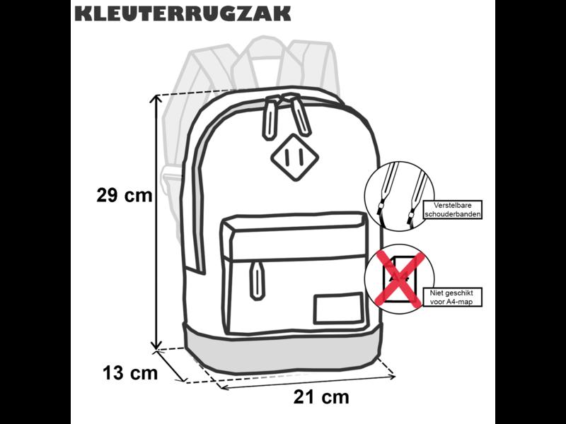 Bestway Kleinkindrucksack Affe - 29 x 21 x 13 cm - Grün