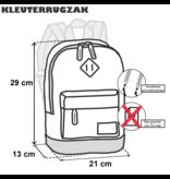 Bestway Kleinkinderrucksack Dinosaurier - 29 x 21 x 13 cm - Polyester
