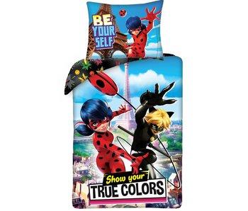 Miraculous Housse de couette True Colors 140 x 200 cm Coton