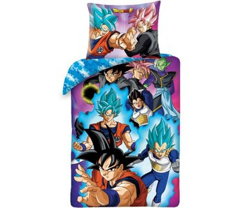 Dragon Ball Z Dekbedovertrek Super Saiyan 140 x 200 cm Katoen