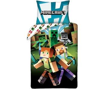 Minecraft Duvet cover Monster Spawn 140 x 200 cm Cotton