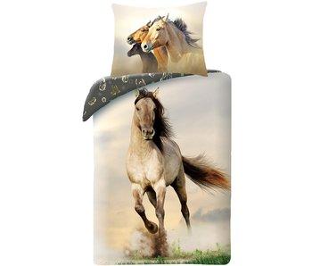 Animal Pictures Housse de couette Cheval Galop 140 x 200 cm Coton