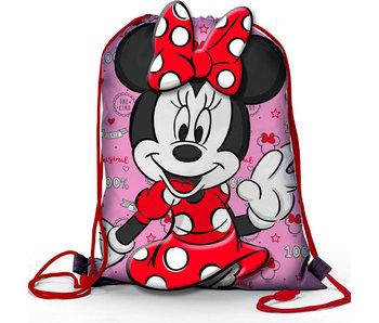 Disney Minnie Mouse Nœud de Gymbag 36,5 x 31,5 cm
