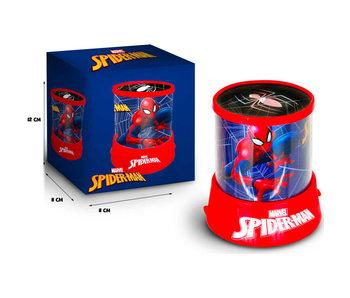 SpiderMan Lampe de projecteur 12 cm