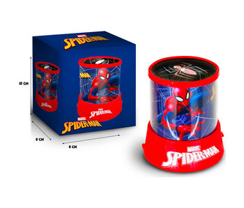 SpiderMan Projector lamp 12 cm