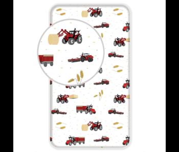 Traktor fitted sheet 90 x 200 cm Cotton