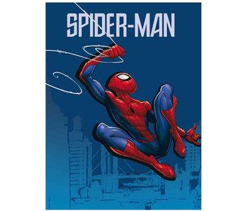 SpiderMan fleece throw 100 x 140 cm polyester
