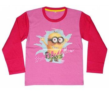 Minions Shirt filles de 6 ans Proud