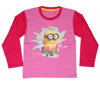 Minions Shirt girls 2 jaar